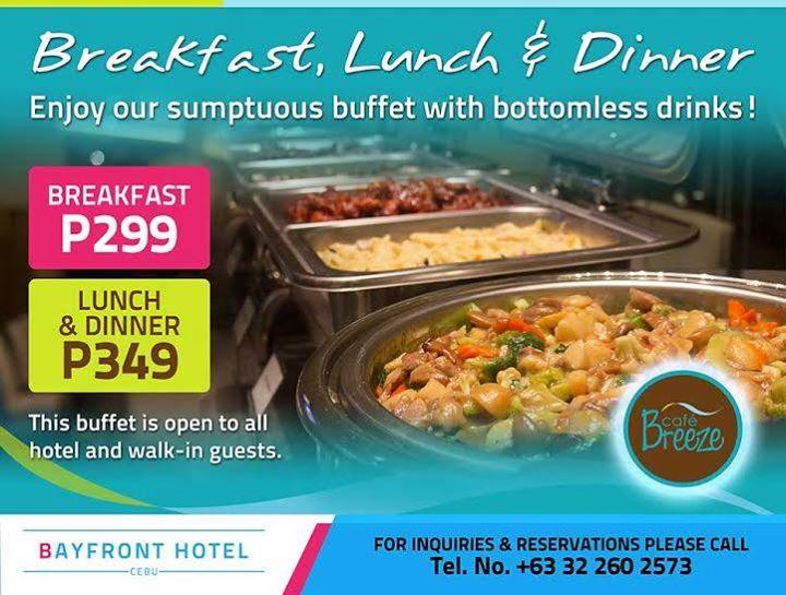 Cafe Breeze Buffet Price