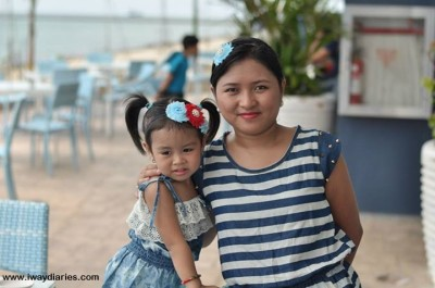 cebu mommy blogger - Louise and Mommy Hannah