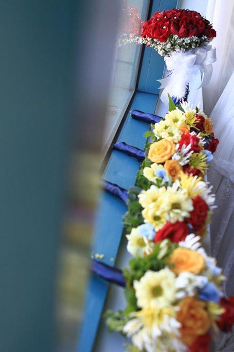 Bride's maids' bouquets