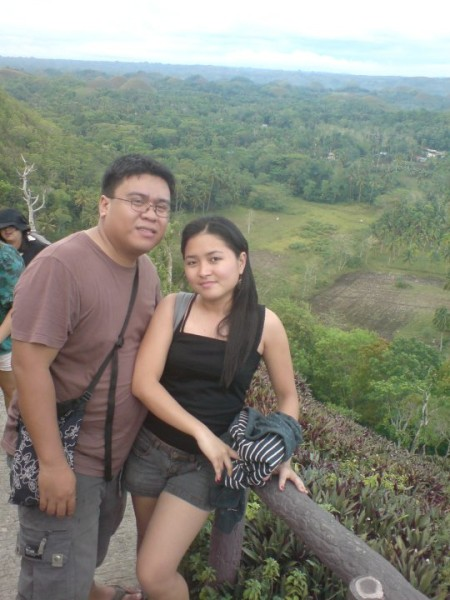 fred and hannah in bohol