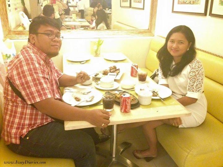 Dinner at Cafe Laguna SM Cebu