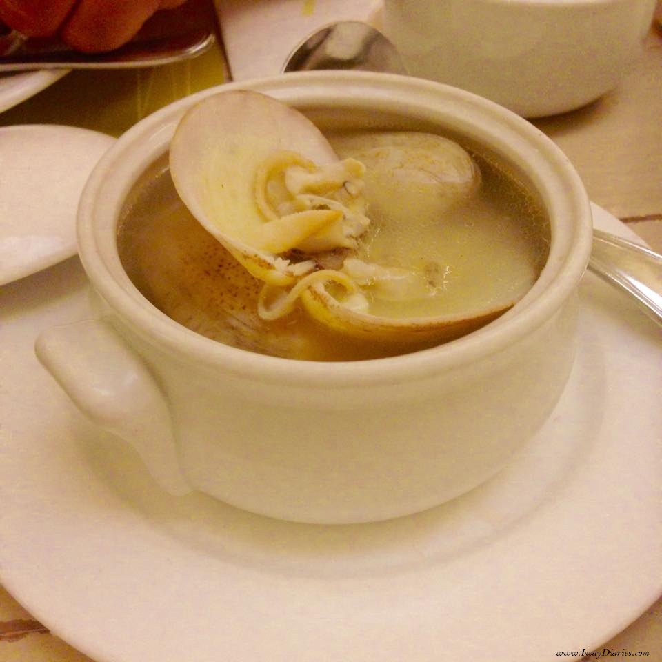 Soup of the day - cafe Laguna