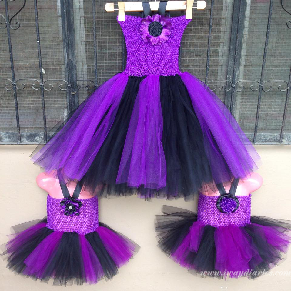 black and purple tutus - 2