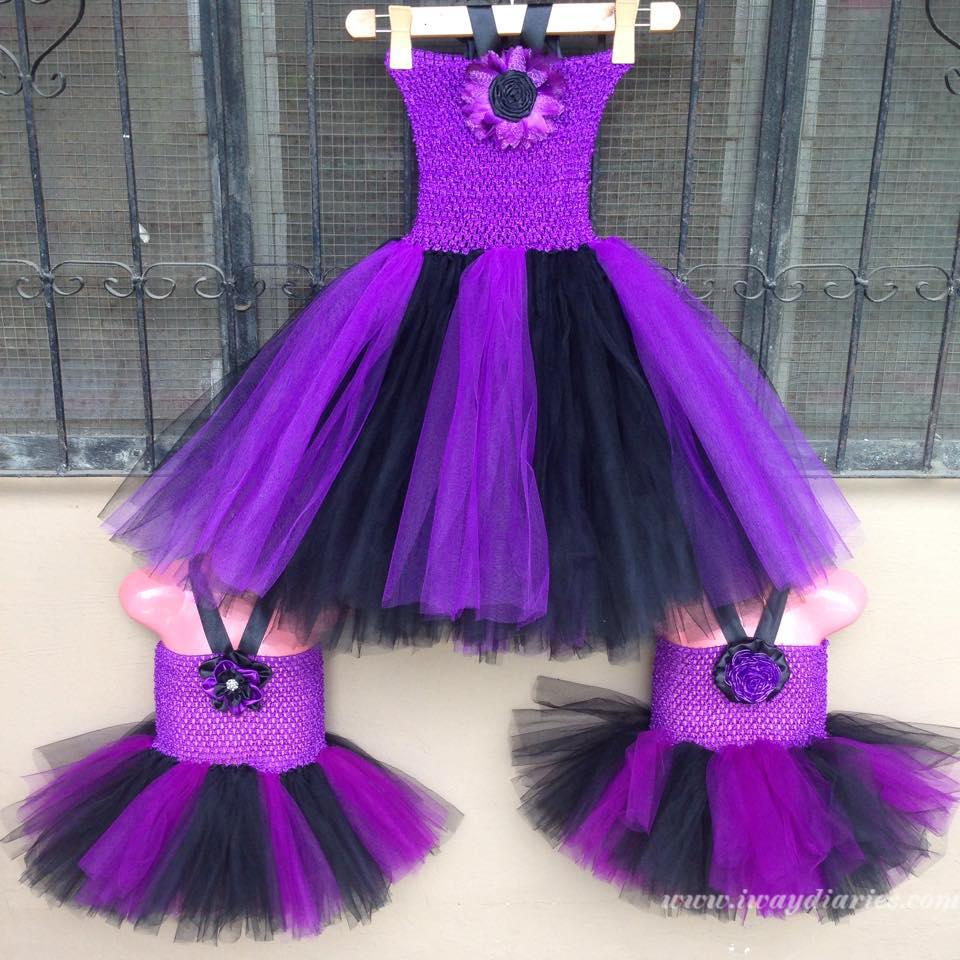 black and purple tutus - 2