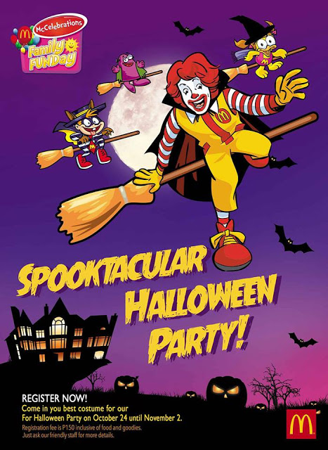mcdonalds halloween party 2015