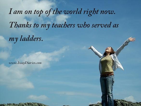 success and teachers