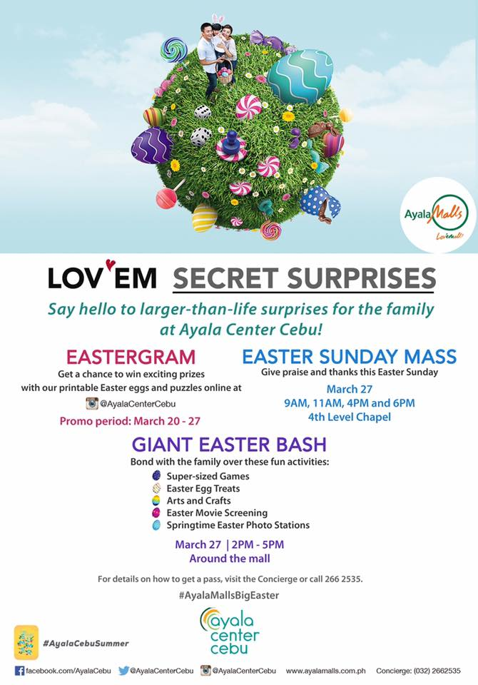 Easter Activity - Ayala Cebu