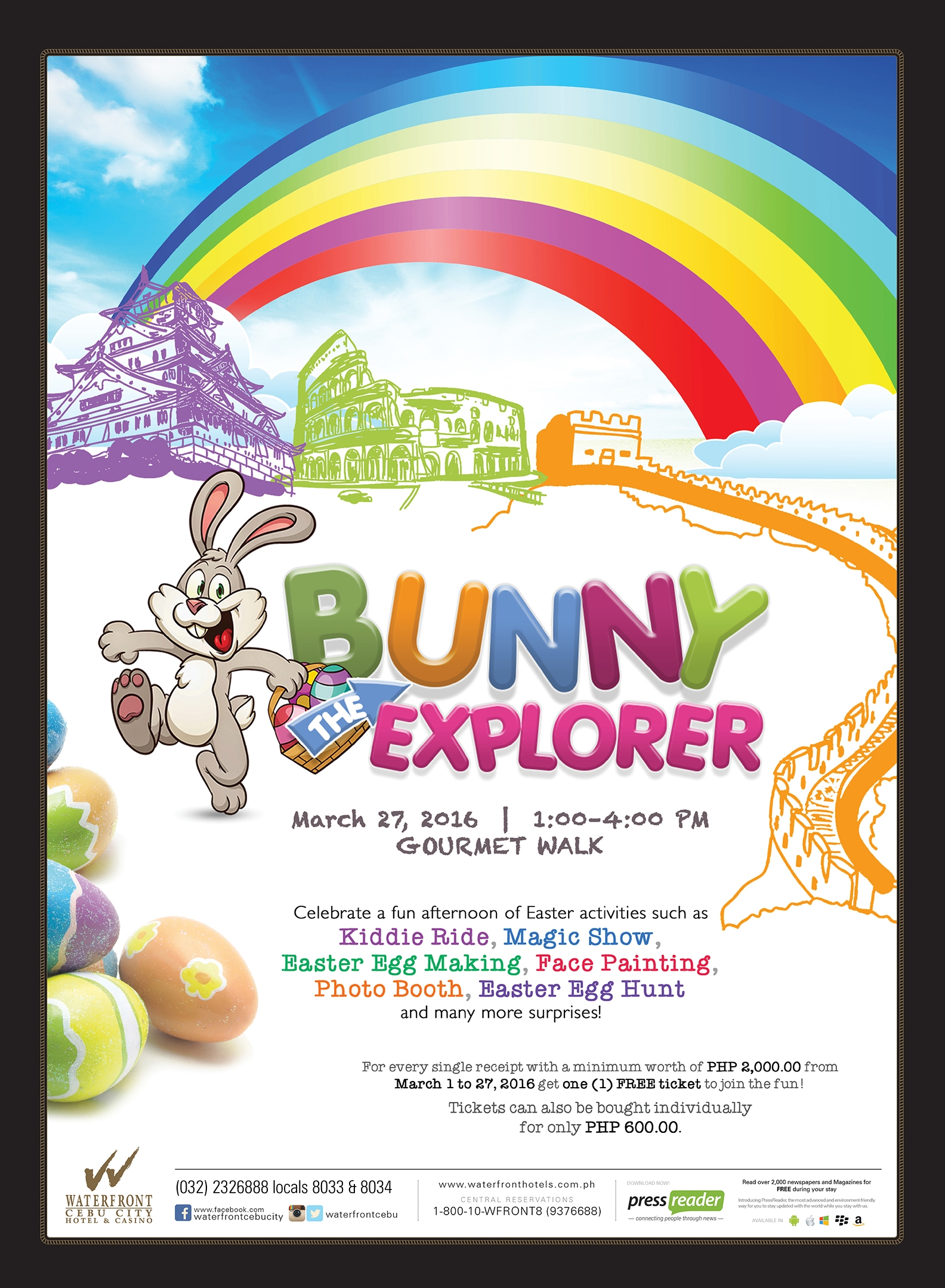 Easter Egg Hunt at Waterfront Cebu City Hotel and Casino