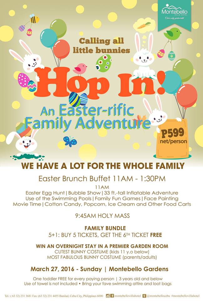 Easter Family Adventure Montebello Villa Hotel