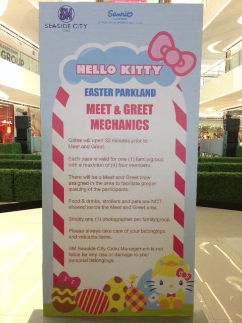 Hello Kitty Meet and Greet Mechanics