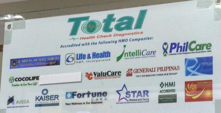 Total Health Check Diagnostics - Accredited HMO Companies