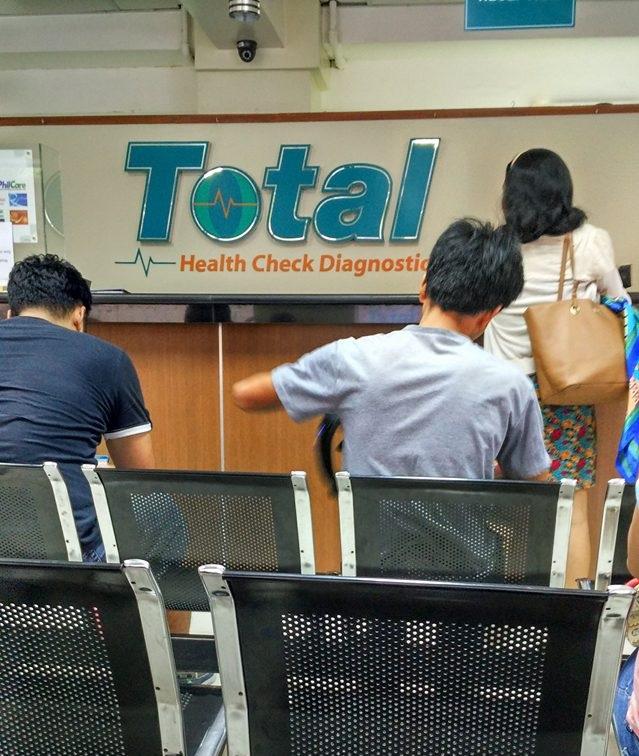 Total Health Check Diagnostics - counter