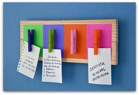 DIY to-do-list board