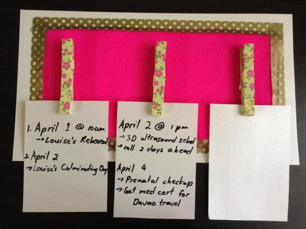 my scheduler - iwaydiaries
