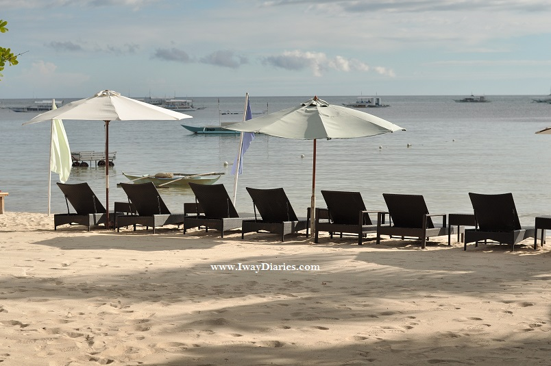 Beachfront of Panglao Tropical Villas