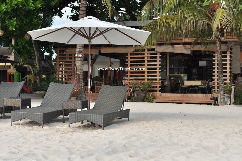 Front View of Panglao Tropical Villas Restaurant