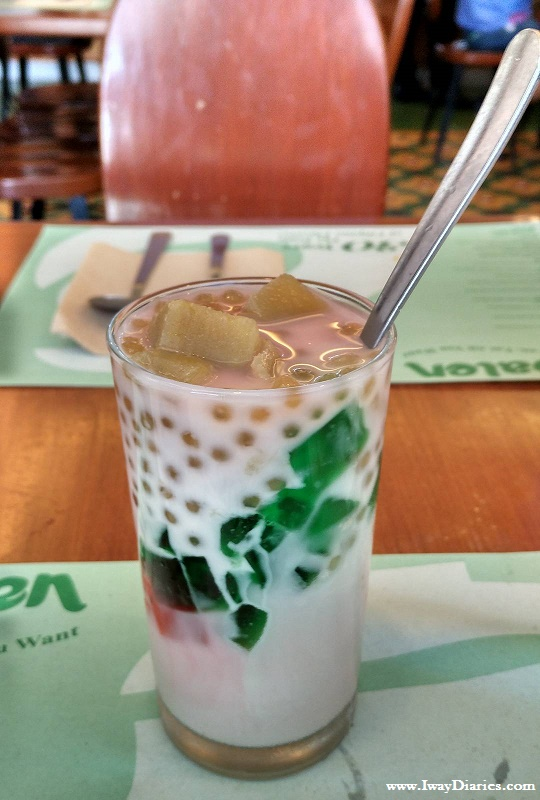 Make your own halo-halo at Cabalen