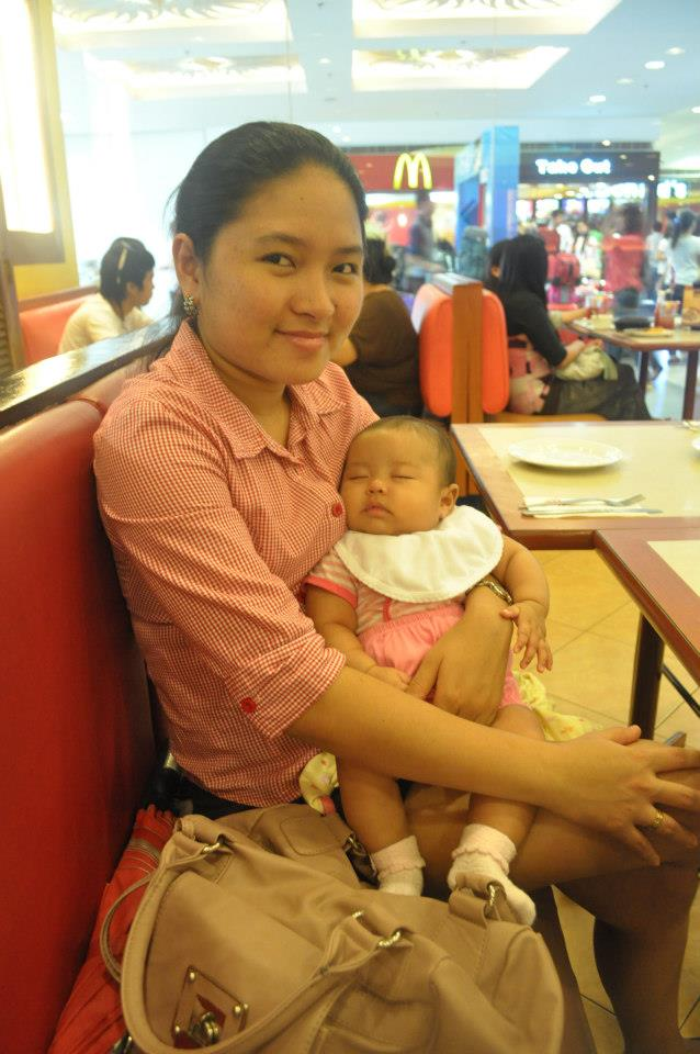 Me and baby Louise