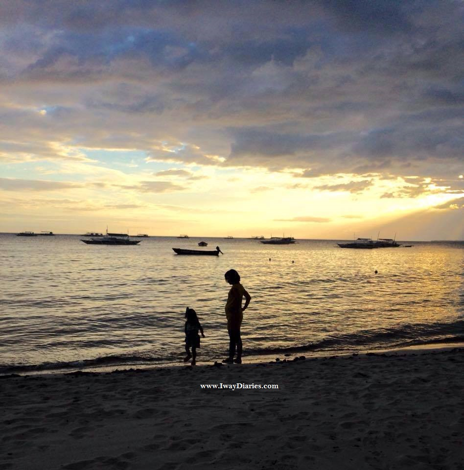 Sunset at Panglao, Bohol