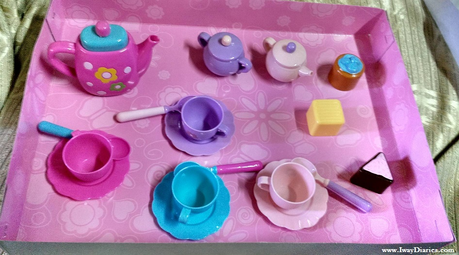 Toy Kingdom Tea Set
