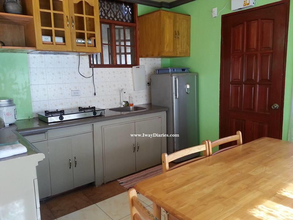 Villa Vidas Kitchen Area - Panglao Tropical Villas