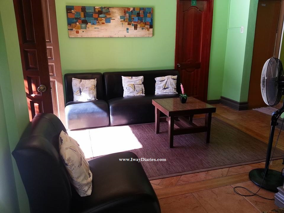 Villa Vidas Living Room - Panglao Tropical Villas