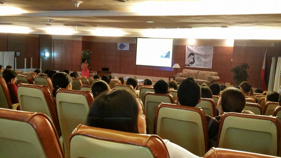 breastfeeding seminar at Chong Hua Hospital Cebu