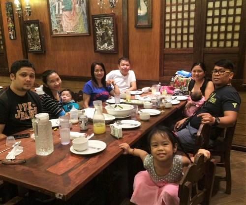 Family Dinner at Paolito's