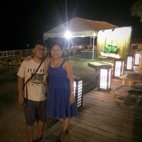 Lantaw SRP at night