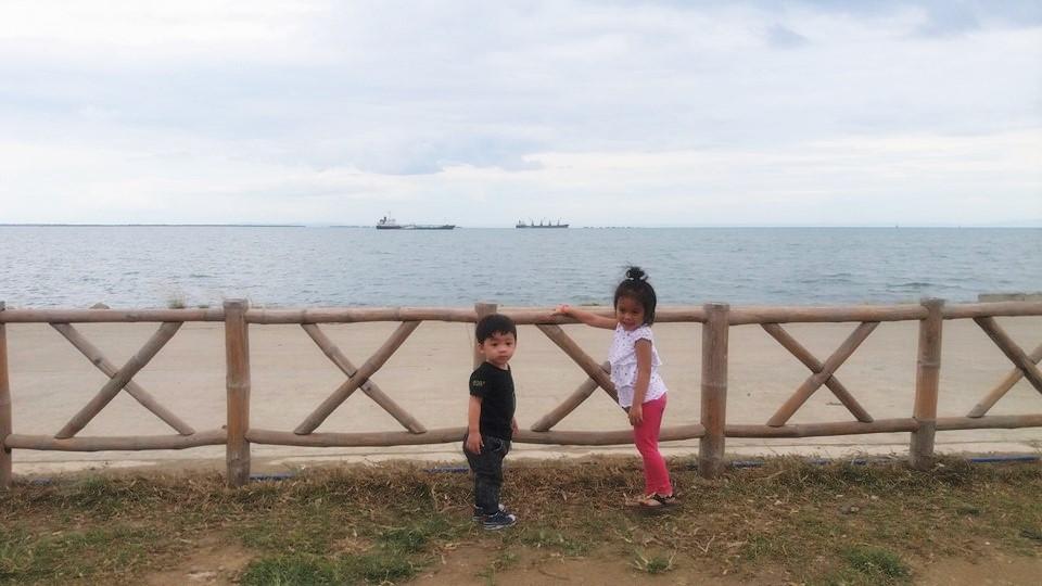 sea view at Lantaw Native Restaurant SRP Cebu