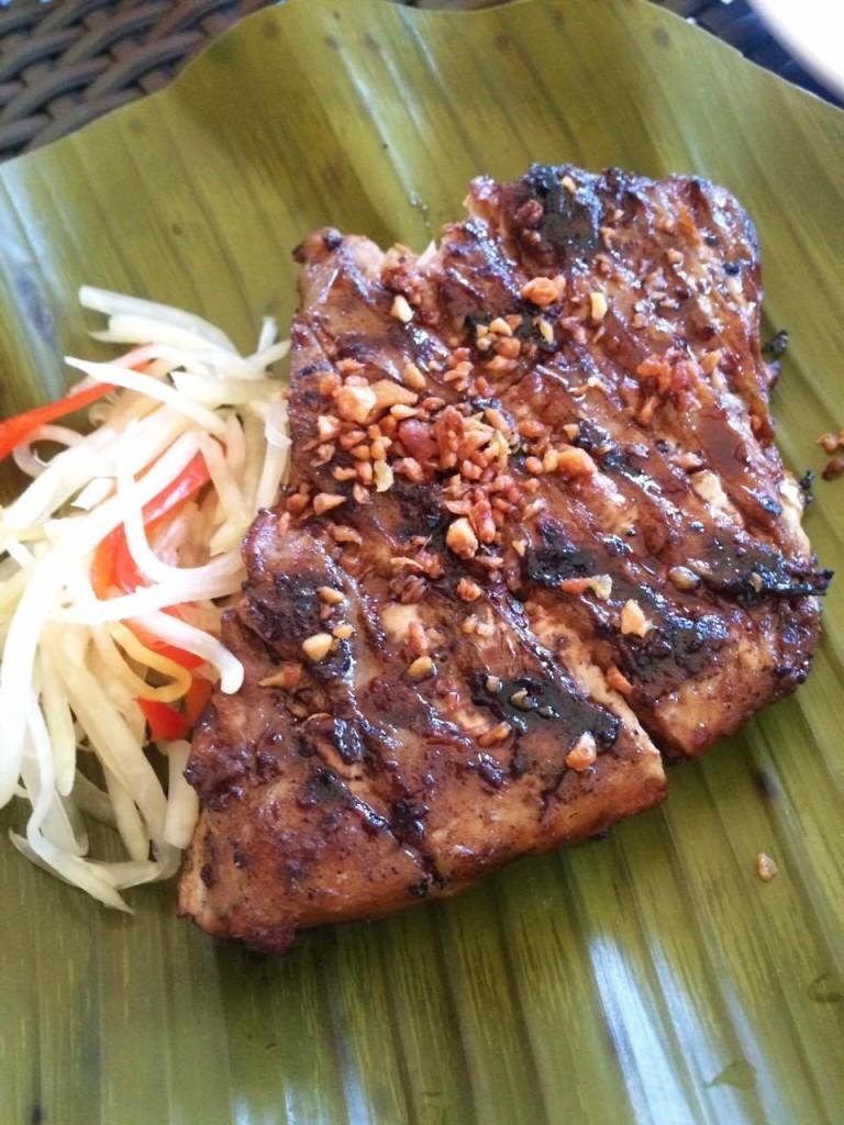 tuna belly of Lantaw Native Restaurant SRP Cebu