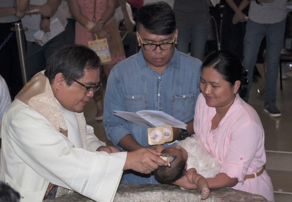 Baptism at Sacred Heart Parish
