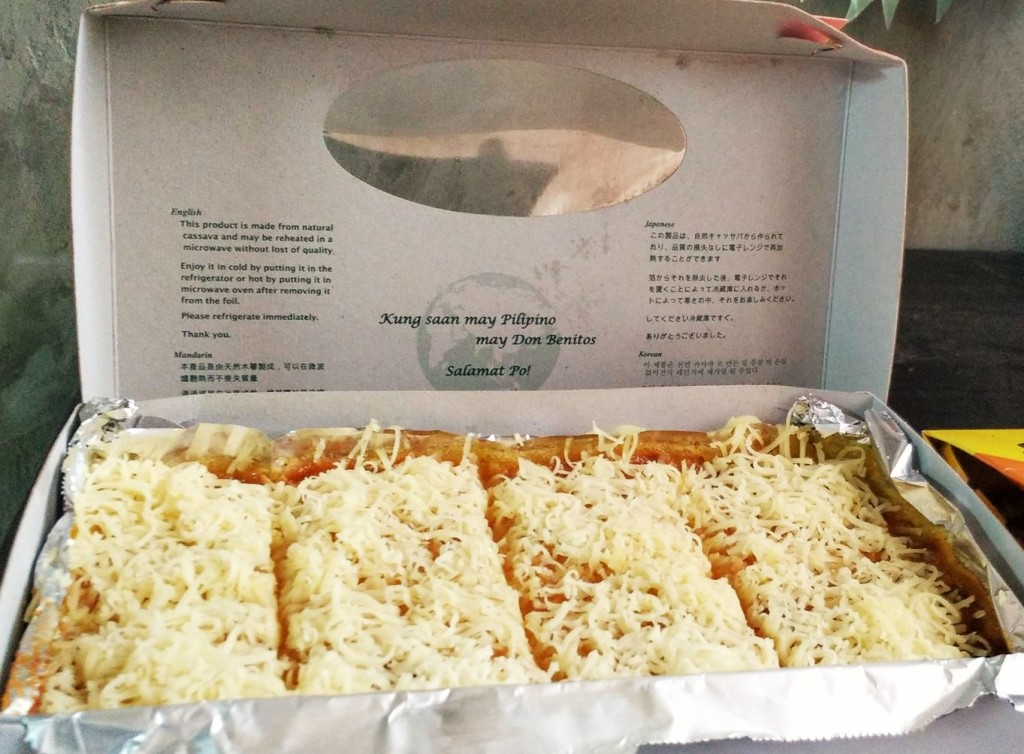 Don Benitos Cassava Cake - Cebu