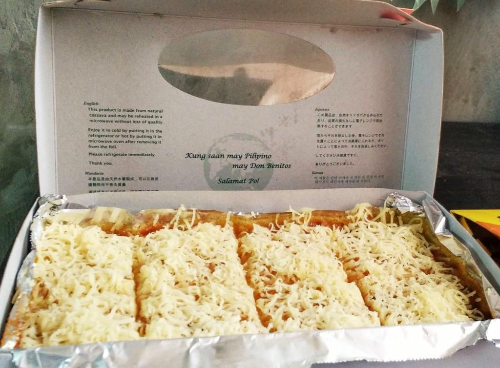 Don Benitos Cassava Cake - Cebu