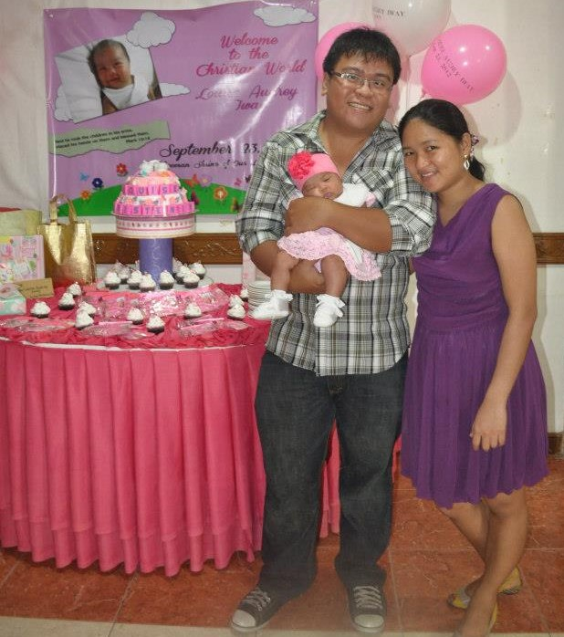 Louise Baptism