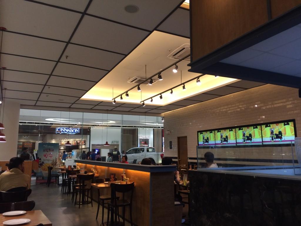 Mr. Pizza Place at SM Seaside City Cebu