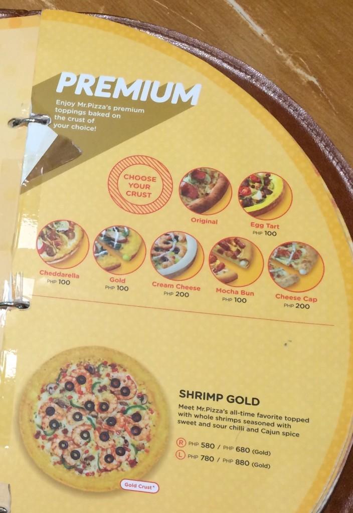 Mr. Pizza Premium Crust