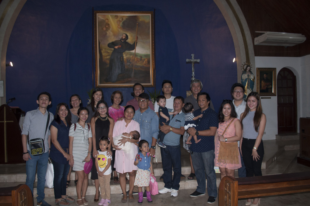 Photo with Family and Godparents