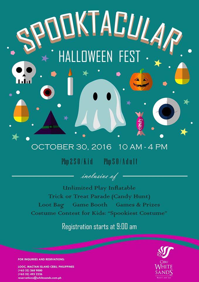 Cebu White Sands Resort & Spa Halloween Fest