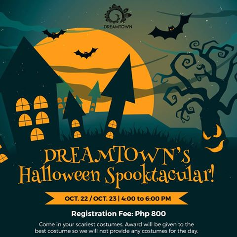 Dreamtown Cebu Halloween Activities