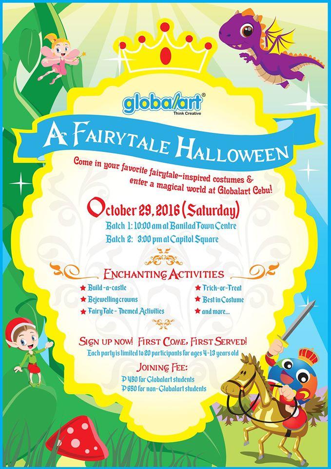 Global Art halloween Cebu