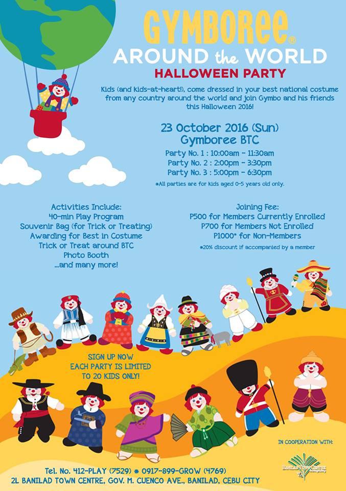 Gymboree Cebu Halloween
