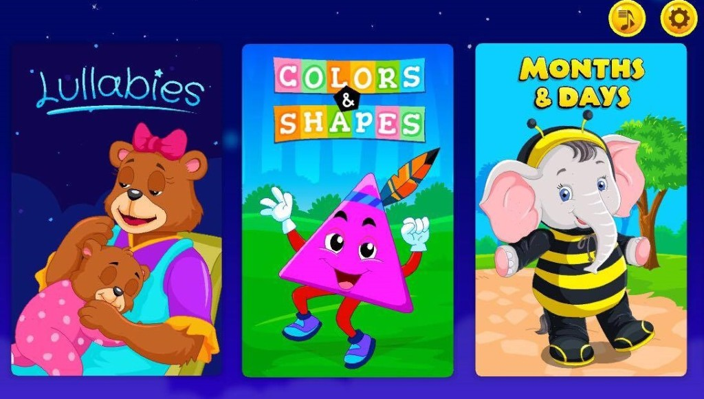 Kidloland App Screenshots