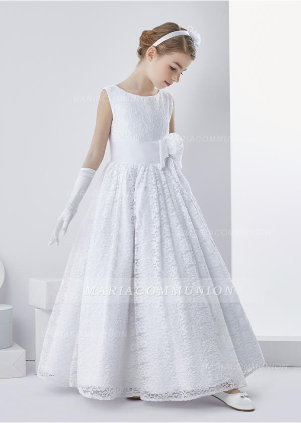 white-communion-dress