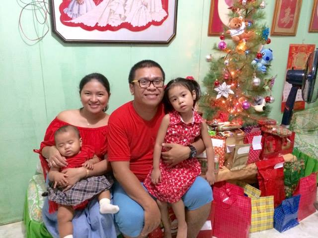 Christmas 2016 with family