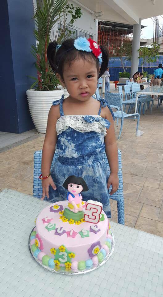 Dora the explorer themed cake