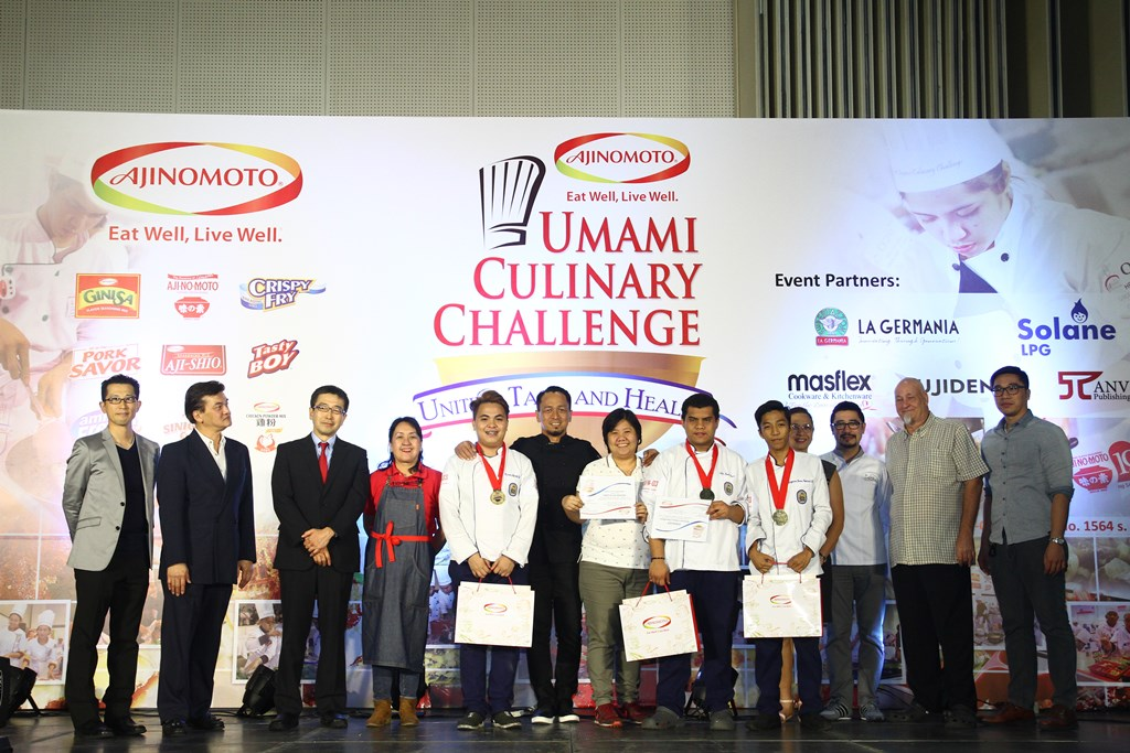 Luzon's first place winner for Best Filipino Umami Dish is Perpetual Help College -Manila