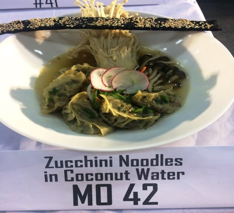 My Own Umami Creation - Luzon entry: Zucchini Noodles in Coconut Water