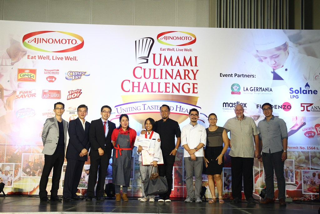 Luzon's first place winner for Umami Master 2017 is Polytechnic University of the Philippines