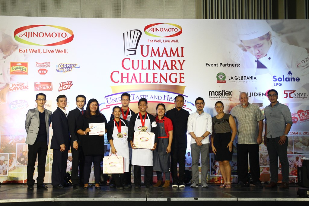 The National Cooking Showdown Champion for My Own Umami Creation is University of St. La Salle-Bacolod